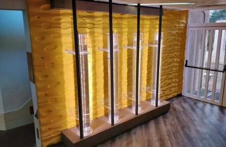 מערכת גידול אצות ספירולינה | בית ספר אפק